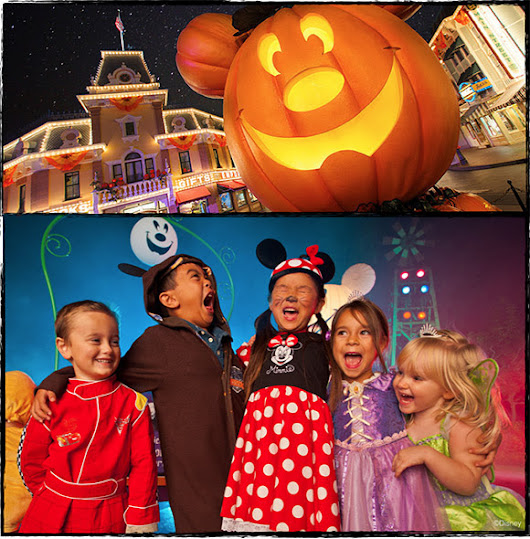 Tickets for Mickey's Halloween Party at Disneyland on Sale Now!