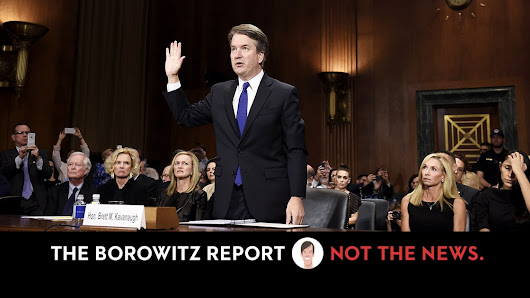 Twenty Million Witnesses Come Forward Claiming They Saw Kavanaugh Lie Under Oath | The New Yorker