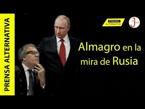 Gobierno de Putin respondió a Luis Almagro por intromisión!