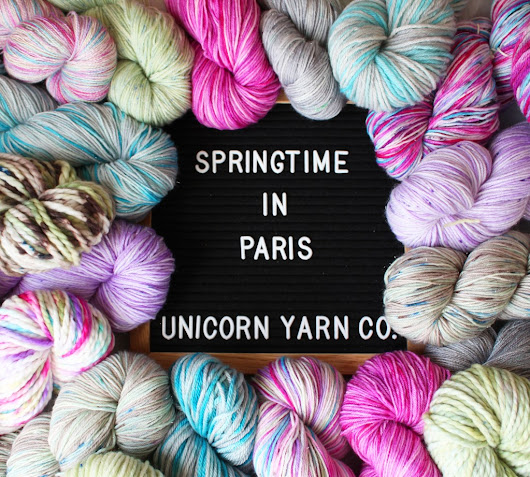 Beautiful Yarn, Excellent Knitting and Spring in Paris - Sheep Among Wolves