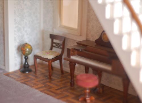 A corner for the piano