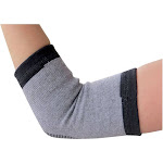 Evelots 1 Bamboo Elbow Wrap Support Elastic Compression Arthritis Brace (M) 1243