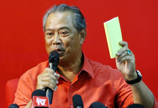 Muhyiddin Yassin - Scammer Cooked Up MP Numbers