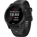 "Garmin Forerunner 945 Multisport GPS /Galileo Watch - 1.2"" Display - Black"