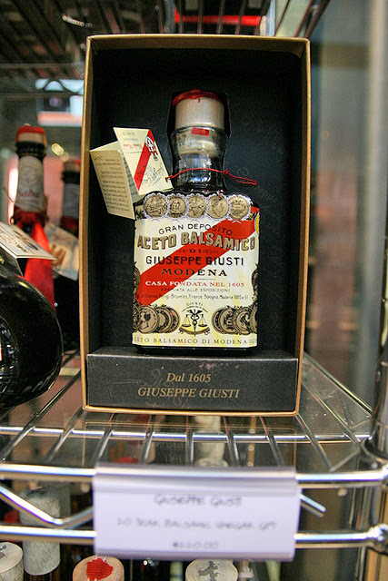 Giuseppe Giusto aged balsamic vinegar, just S$220 per bottle