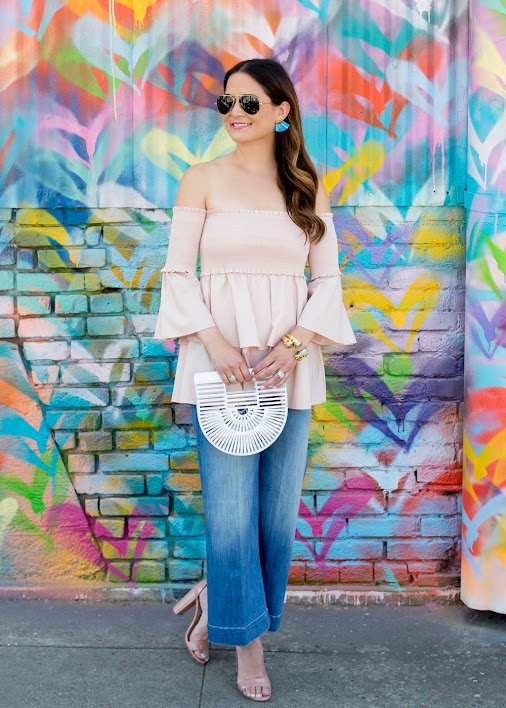 Sharing this chic ruffle hem top on the blog today (only $50). See the full post here: http://bit.ly...