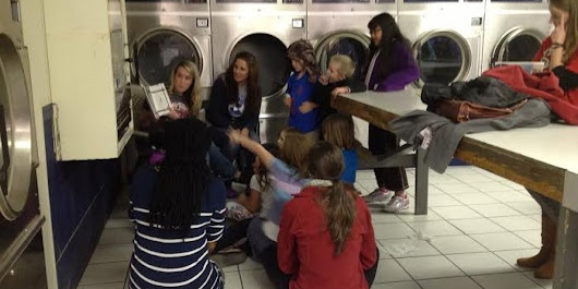 Why The Clinton Foundation Wants More Parents To Read To Kids At Laundromats
