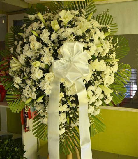 Purity Funeral Stand   FG Davao   Flowers Gifts Delivery