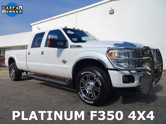 2013 Ford F-350SD Platinum For Sale