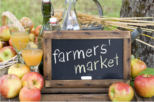 Check out the Village of Grogan's Mill's Farmers Market