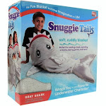 Snuggie Tails Blanket - Shark