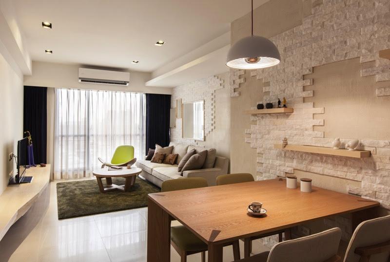 Organic Modern Living Room Dream House