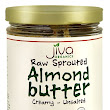 Jiva Organics RAW SPROUTED Organic Almond Butter 8 oz