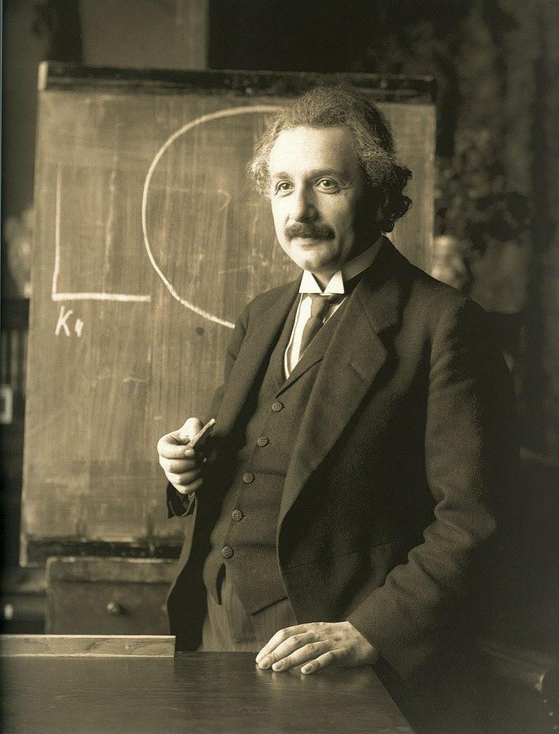 Albert Einstein, Vienna, 1921, F Schmutzer