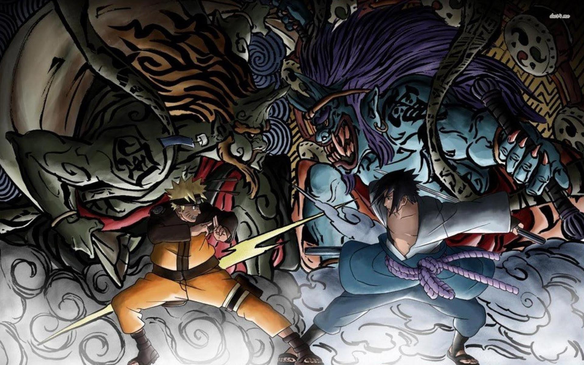 Top Gambar Naruto 3d Terbaik
