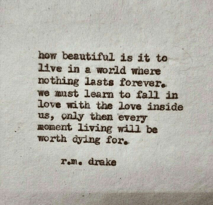 Robert M Drake Poetry To Live By