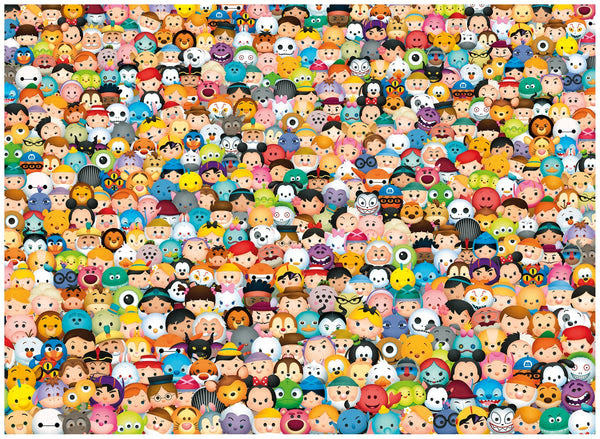 Puzzle 1000 Tsum Tsum Disney Clementoni