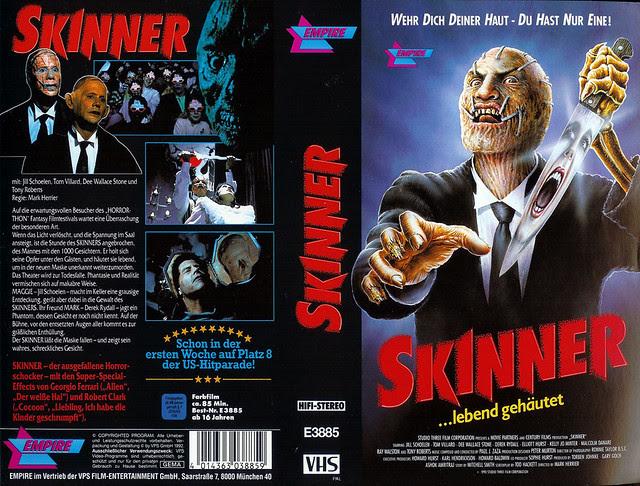 Skinner (VHS Box Art)