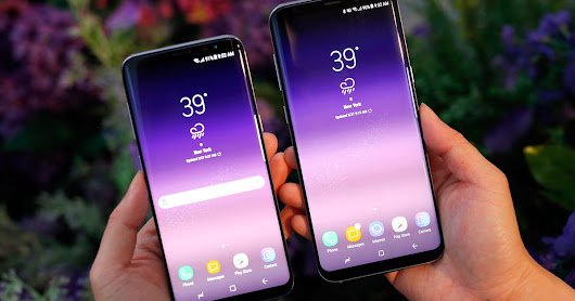 The Galaxy S8 and S8+ pack big changes into gorgeous bodies