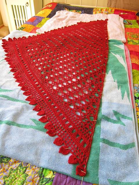 Armorique shawl