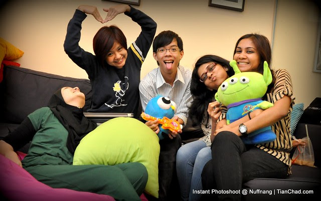 Instant Photoshoot @ Nuffnang Office | TianChad.com