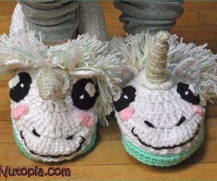 Simply *M A G I C A L* Unicorn Slippers