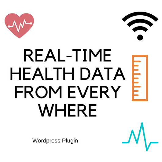 WP-Plugin : REAL-TIME HEALTH DATA FROM EVERY WHERE — Installation & Usage