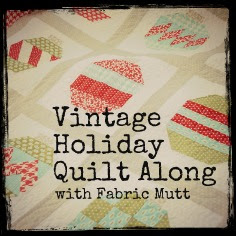 Vintage Holiday Button
