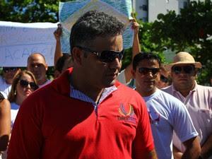Cícero José da Silva deixou o emprego para ser divulgador do Telexfree (Foto: Jonathan Lins/G1)