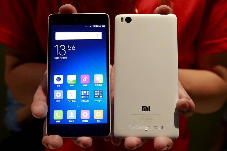 Xiaomi hopes to use its smartphones, like the new Mi 4i pictured here, to expand market share abroad.