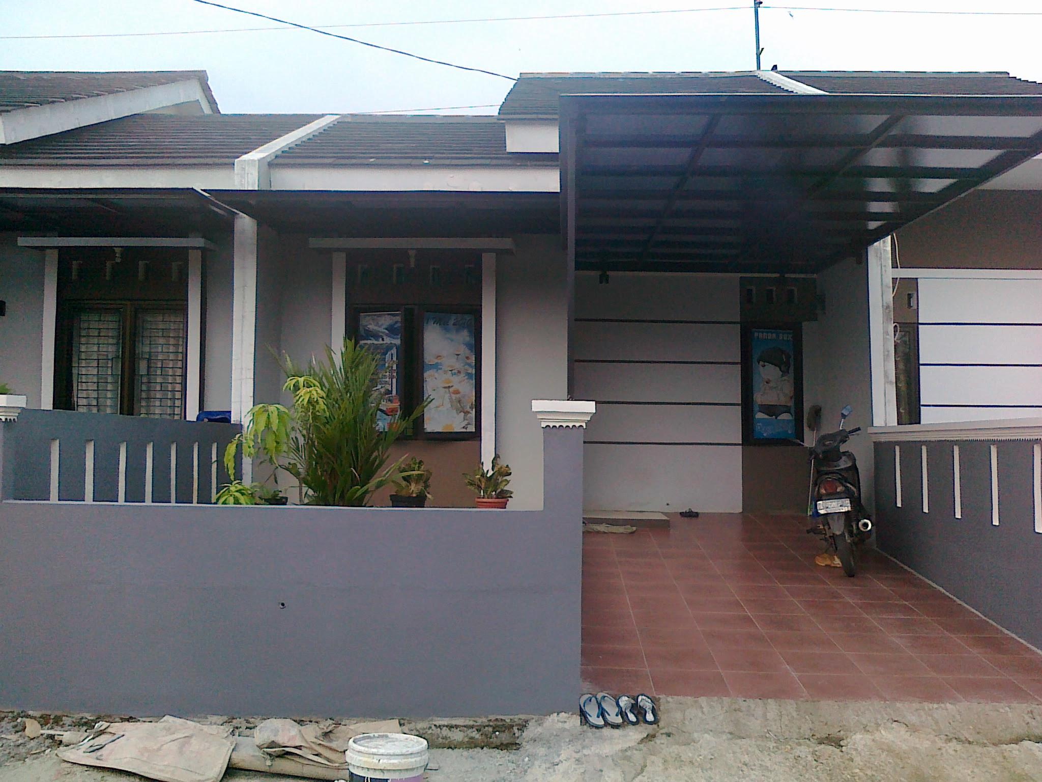 Kanopi Rumah Minimalis Type 36 - canopi murah
