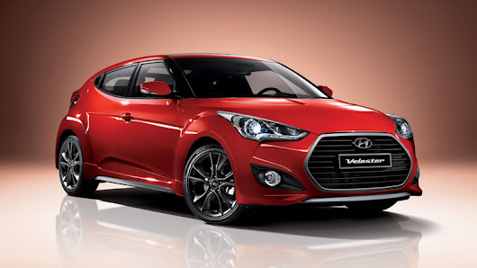 Hyundai Veloster facelift includes new 7-speed DCT, light cosmetics