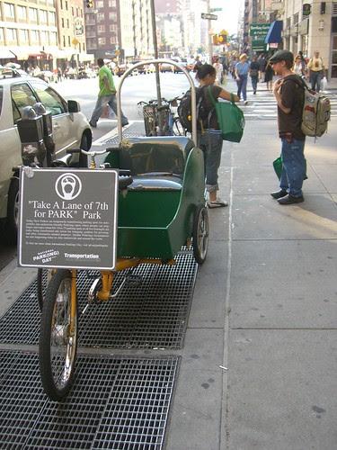 No Impact Man's Rickshaw