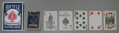 cadet miniature playing cards