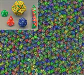 The discovery of quasicrystals - Η δομή των ημικρυστάλλων είναι όμοια με τα αραβικά μωσαϊκά της Αλάμπρα