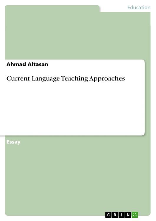 Current Language Teaching Approaches