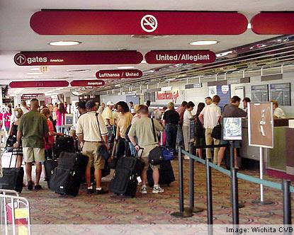 Kansas Airports Wichita Mid Continent Airport Manhattan Ks Airport