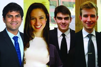 Four Johns Hopkins undergrads honored by Goldwater Scholarship program
