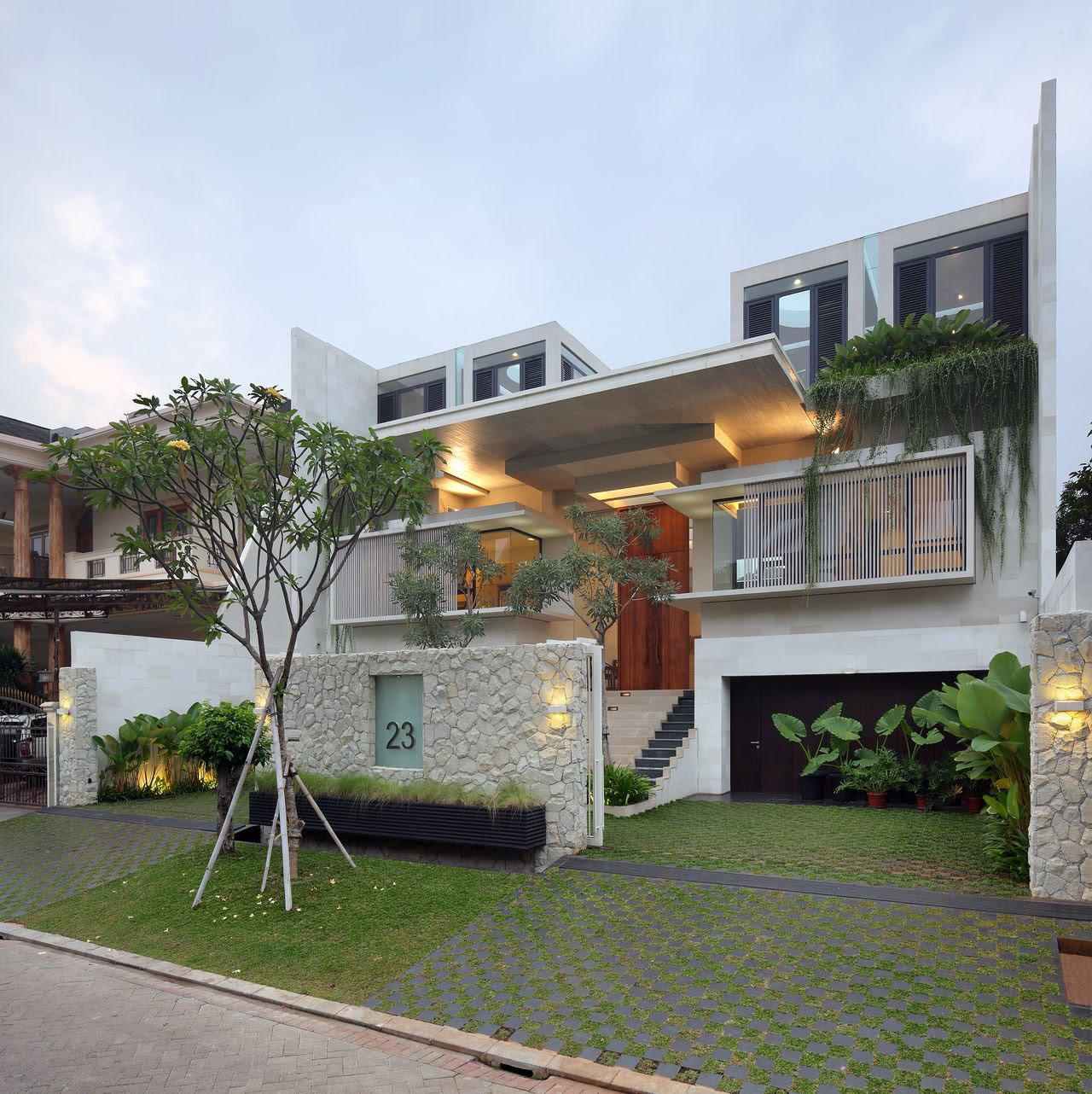 Luxury Garden House