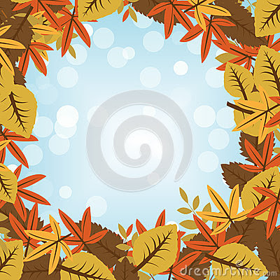 Autumn Background Stock Illustration - Image: 44142875
