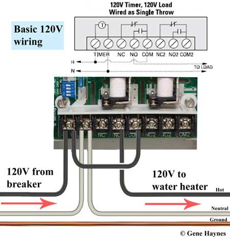 How To Wire Ge 15087 Timer