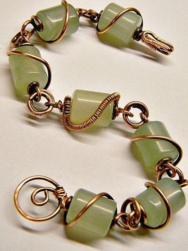 Wrapped New Jade Bracelet