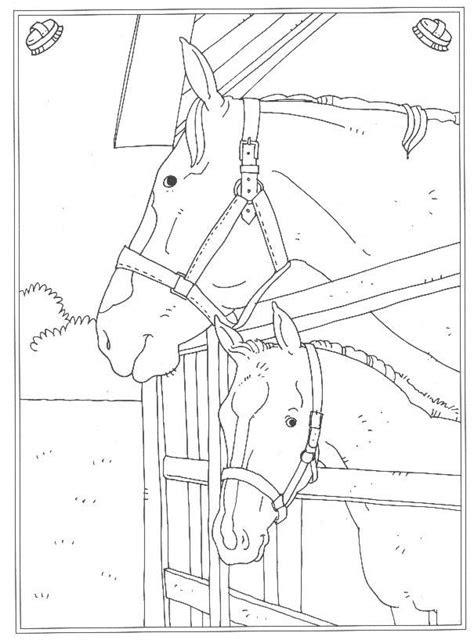 ausmalbilder pferde im stall  kostenlose malvorlagen ideen