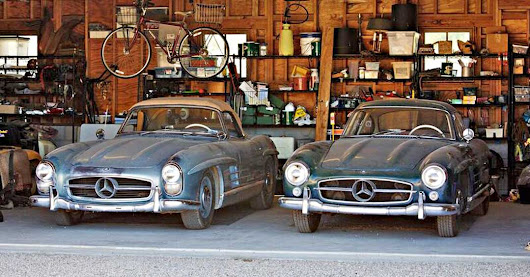 Very Rare Find Uncovered: Mercedes 300SL Gullwing & Roadster - Palm Beach Classics