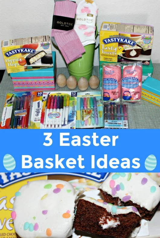 3 Easter Basket Ideas for Adults, Students and Children