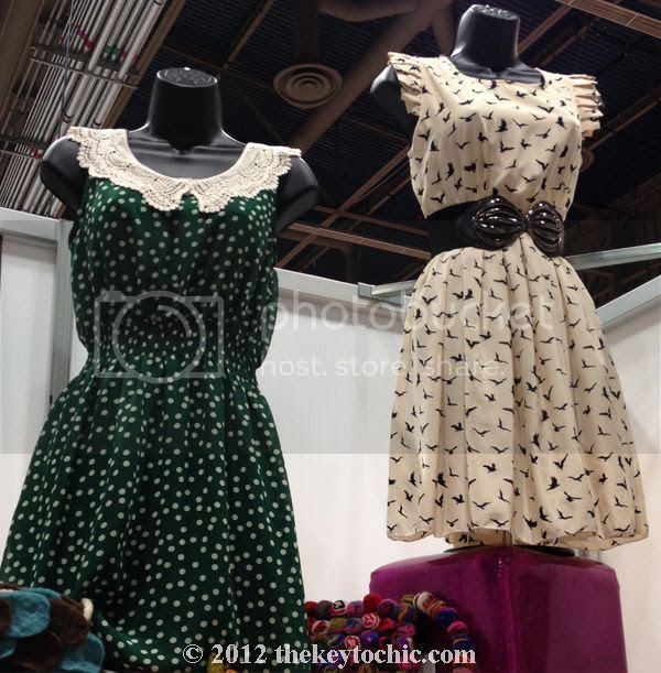 Fuchhi print dresses