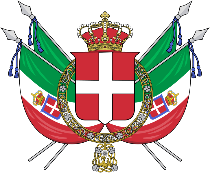 File:Coat of arms of the Kingdom of Italy (1848-1870).svg