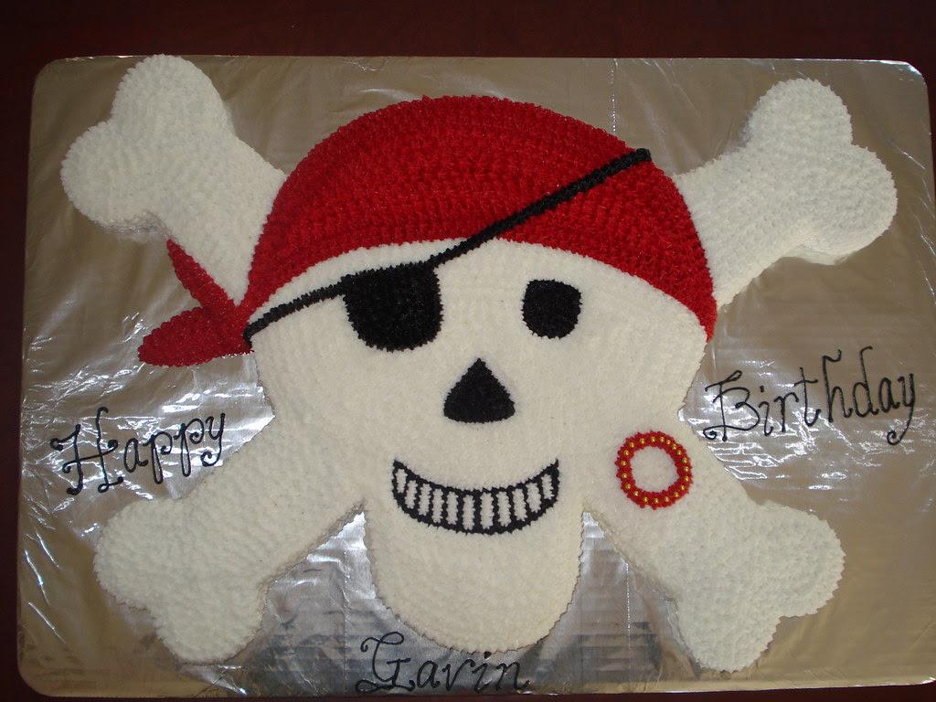 Pirate Cupcake Cake