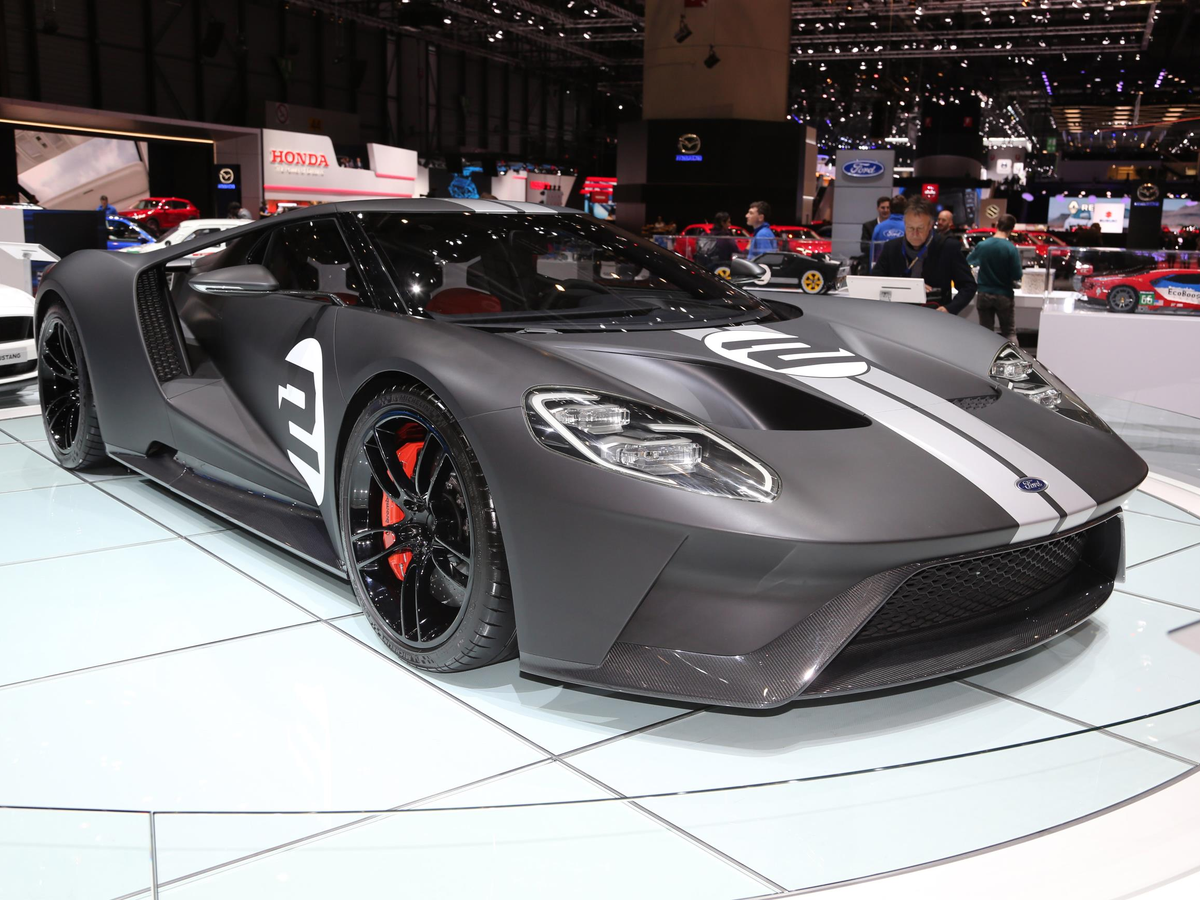 Ford's eye-catching GT supercar made an appearance.