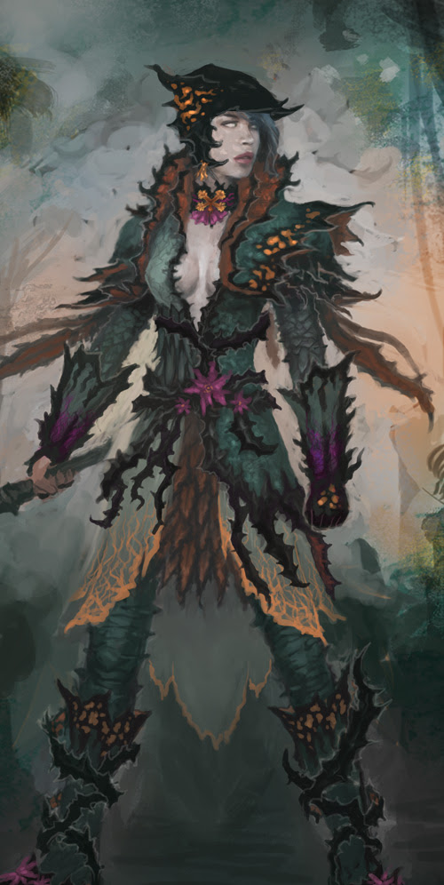 guildwars2 concept art character